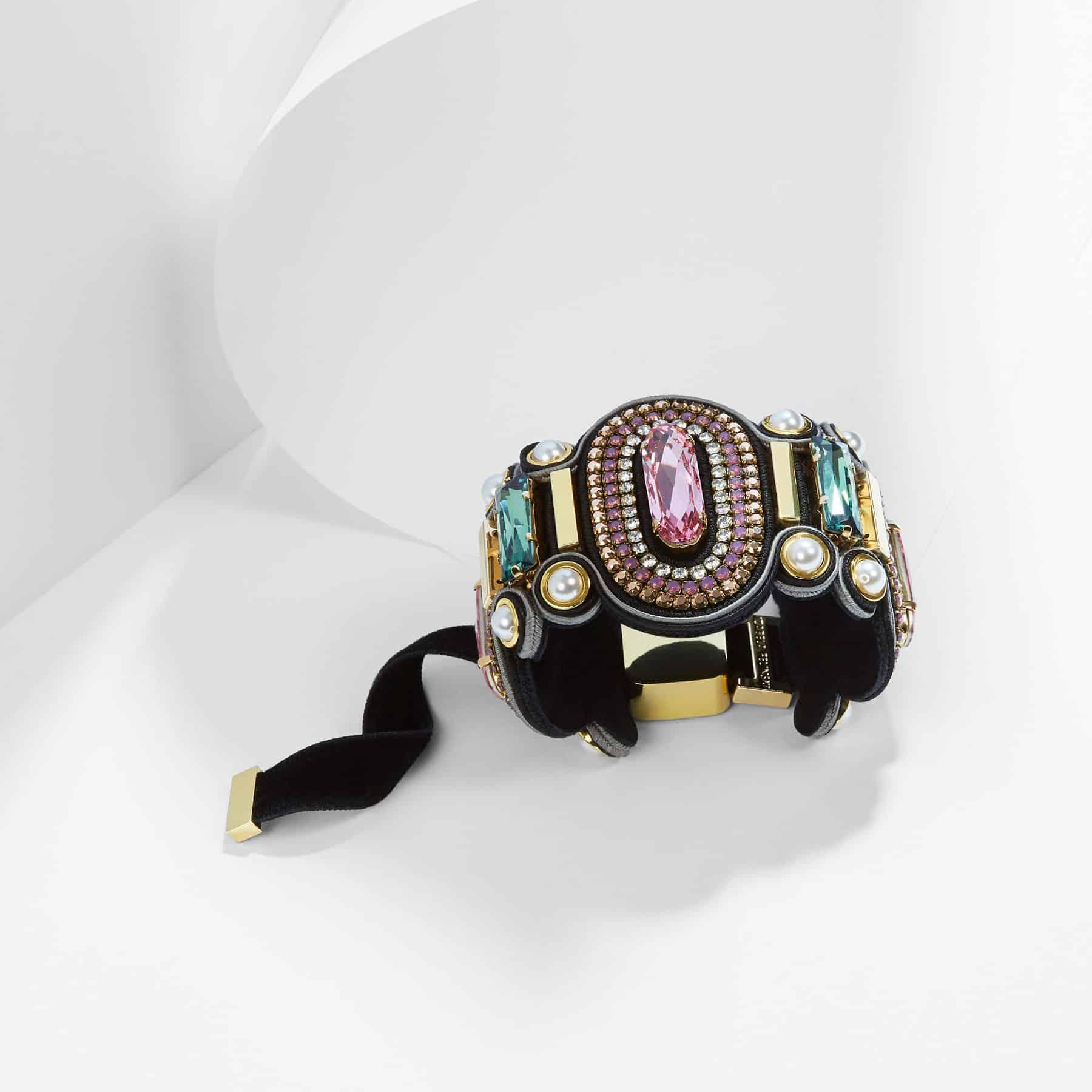 Pink Peony Bracelet