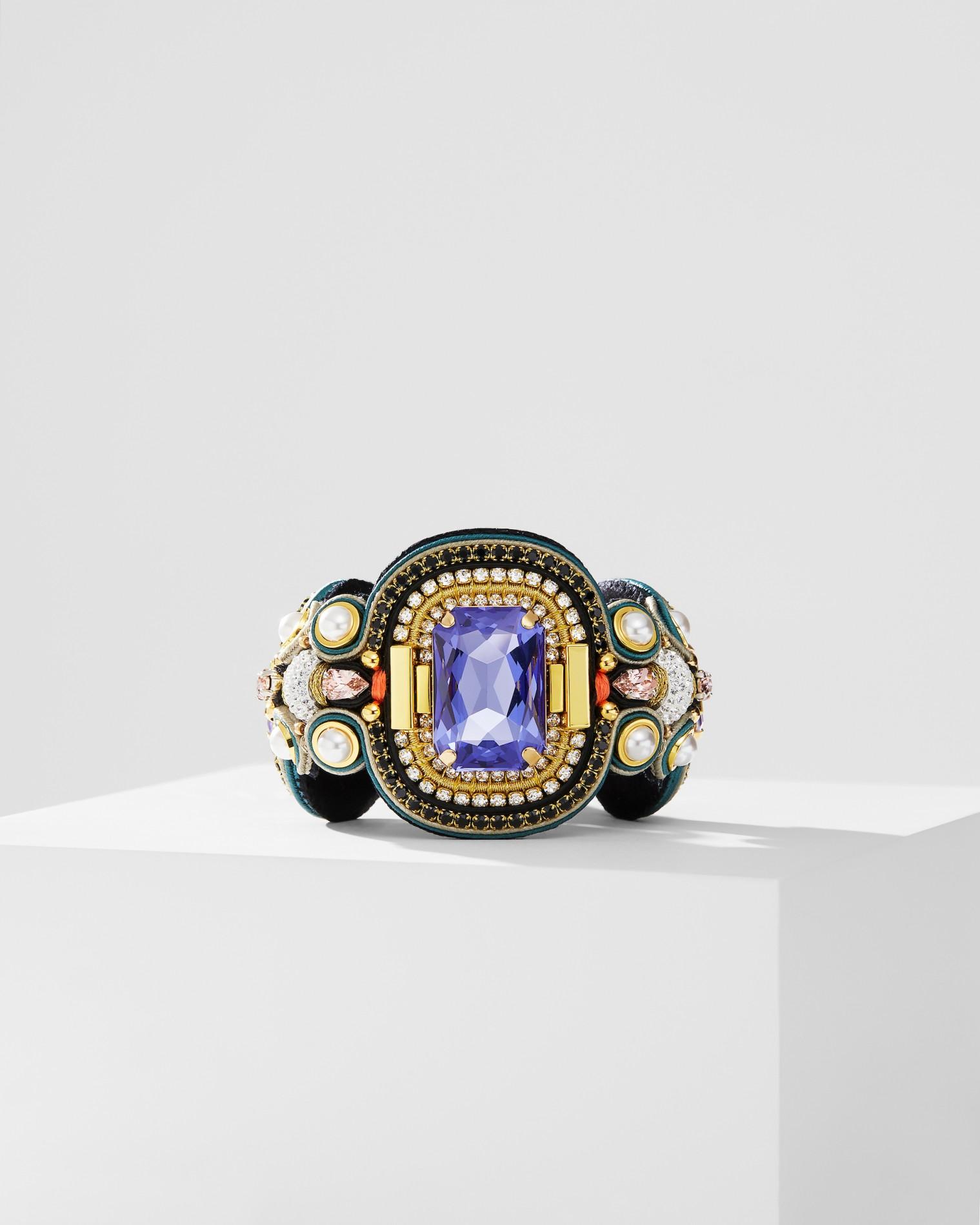 Purple Stone Bracelet