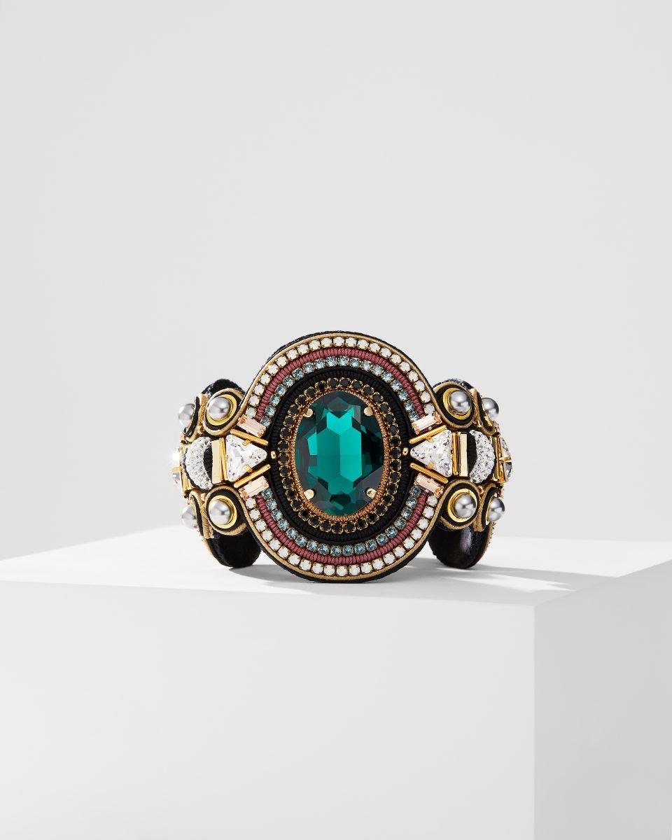 Emerald Stone Bracelet